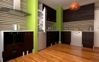 Проект Кухня Венге